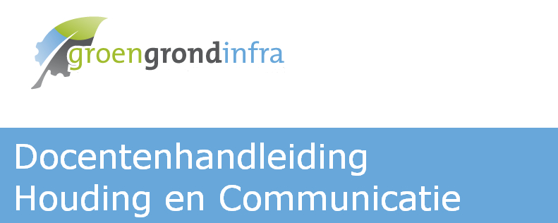 Docentenhandleiding Houding en Communicatie
